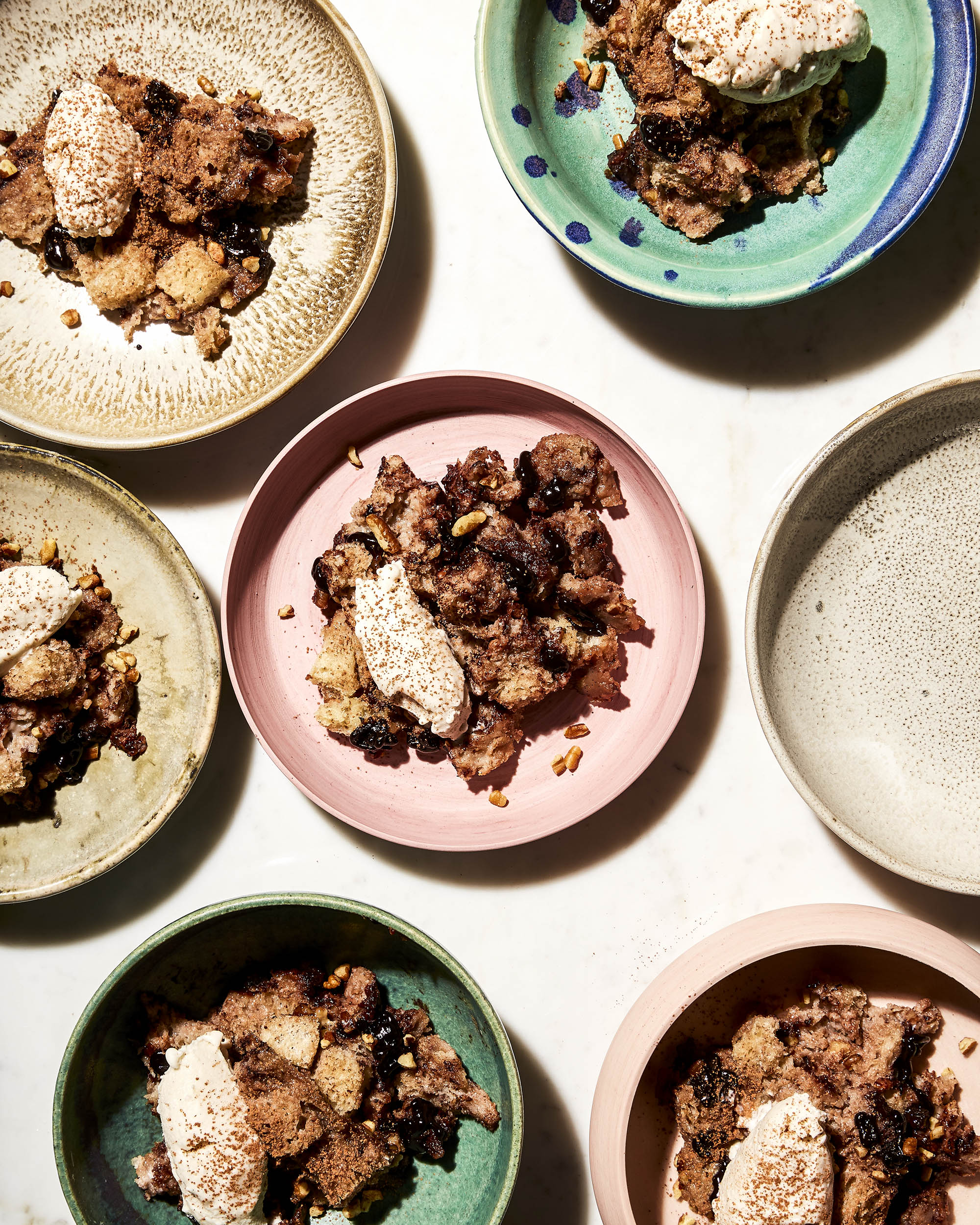 Katie Newburn | San Francisco Bay Area Food and Lifestyle Photographer | Bread Pudding