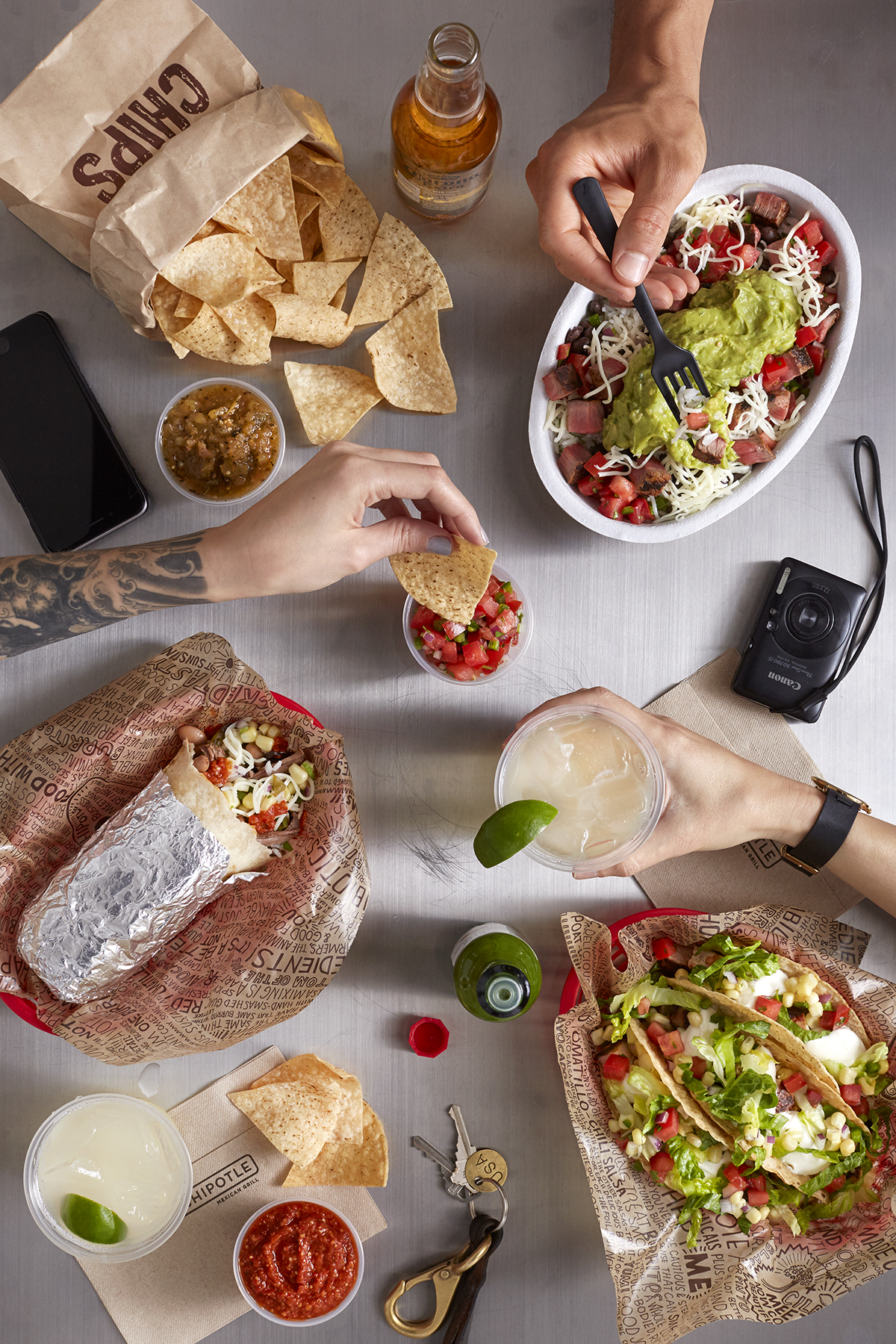 Katie Newburn | San Francisco Bay Area Food and Lifestyle Photographer | Chipotle Party