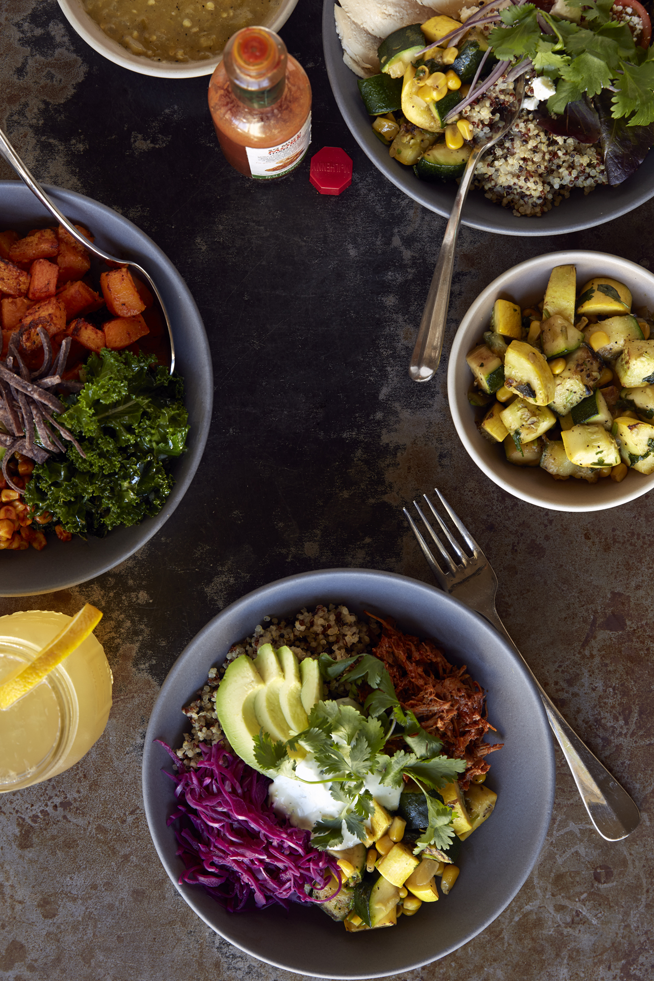 Katie Newburn | San Francisco Bay Area Food and Lifestyle Photographer | Grain Bowls