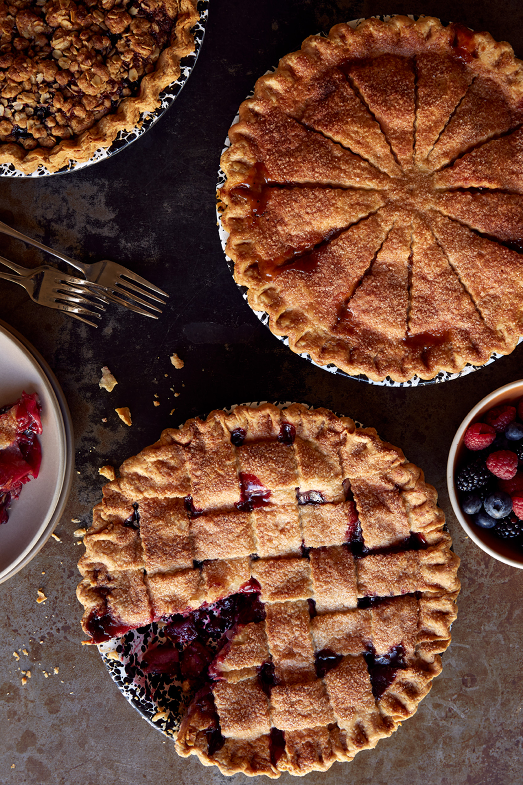 Katie Newburn | San Francisco Bay Area Food and Lifestyle Photographer | Pies