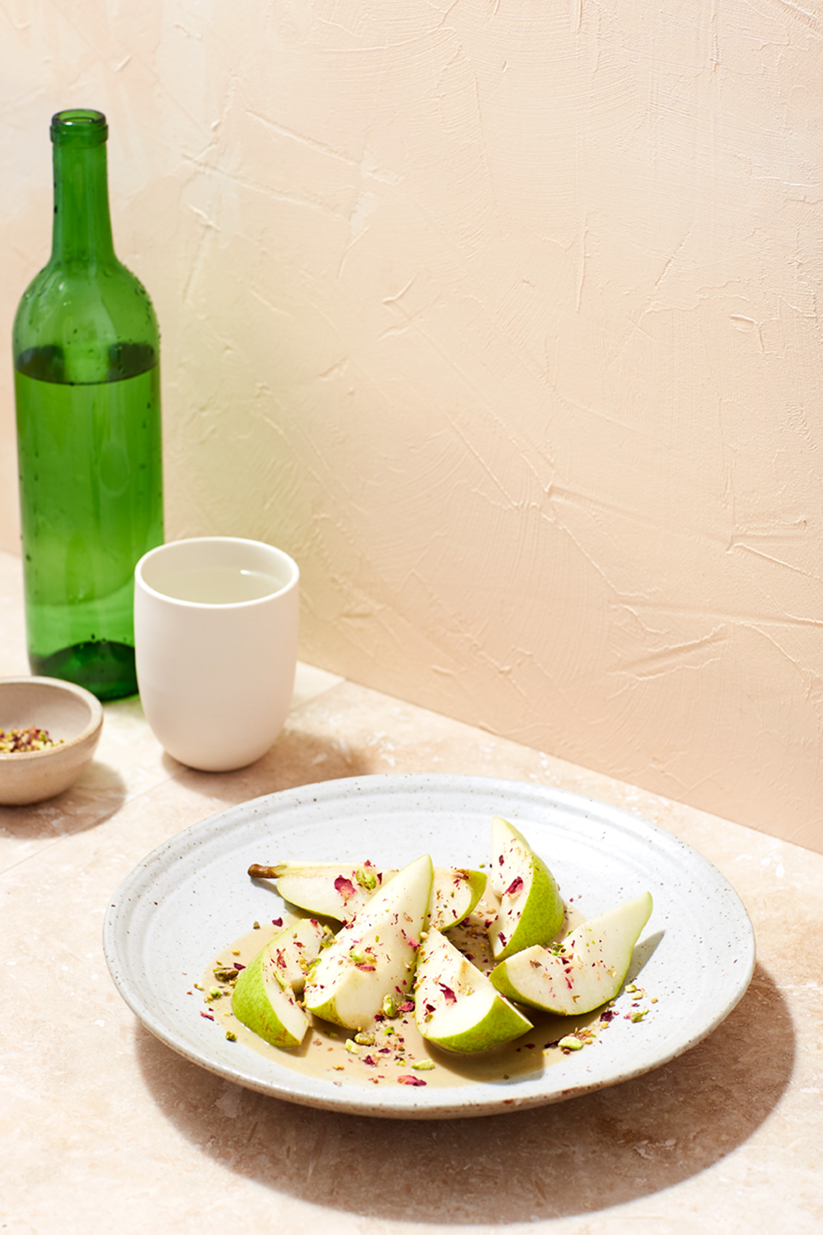 Katie Newburn | San Francisco Bay Area Food and Lifestyle Photographer | Pears with Tahini