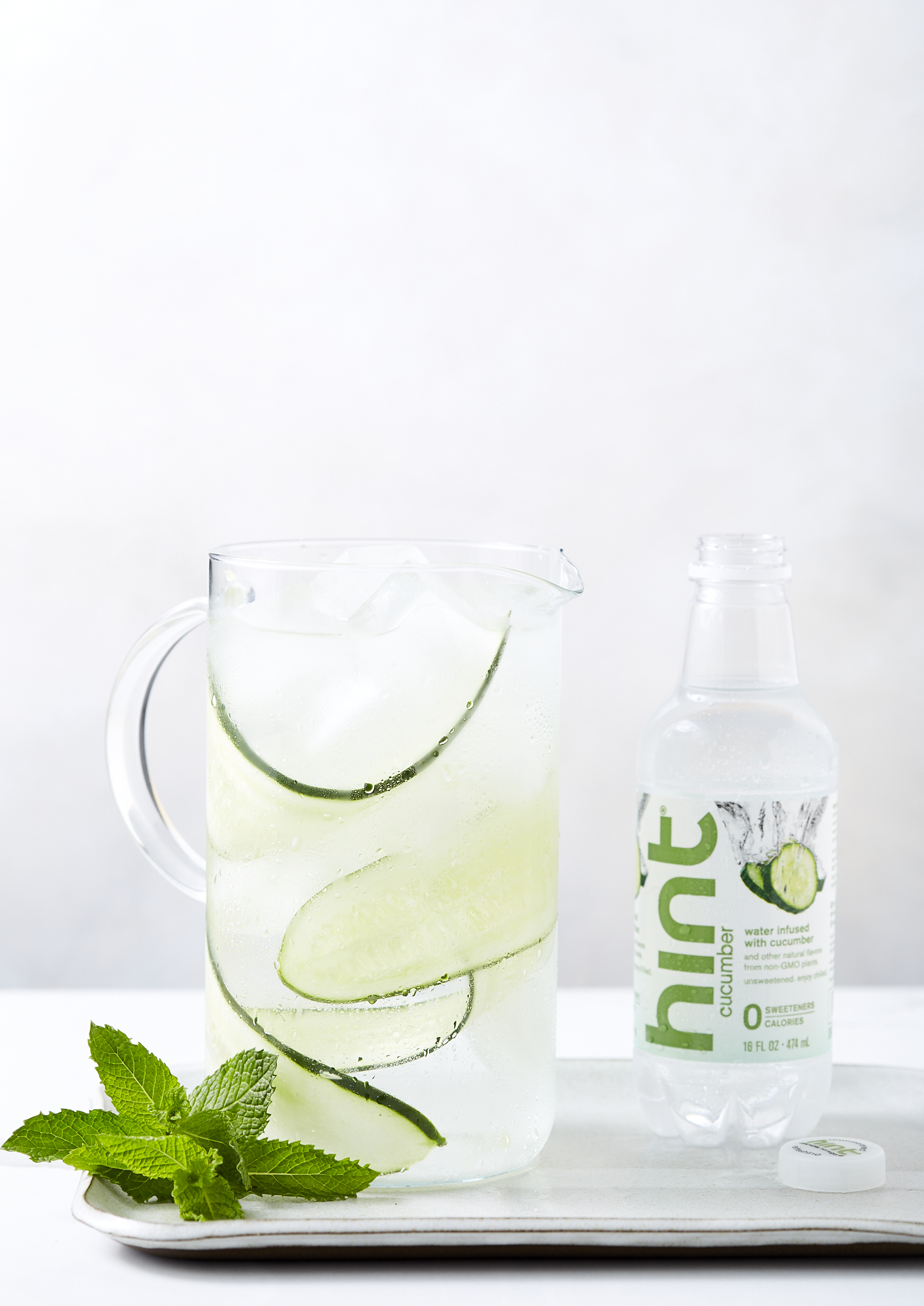 Katie Newburn | San Francisco Bay Area Food and Lifestyle Photographer | Cucumber Water