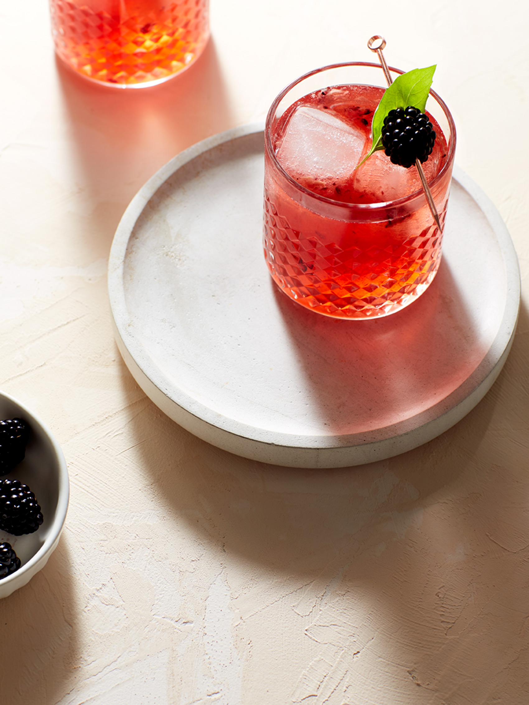 Katie Newburn | San Francisco Bay Area Food and Lifestyle Photographer | Blackberry Cocktail