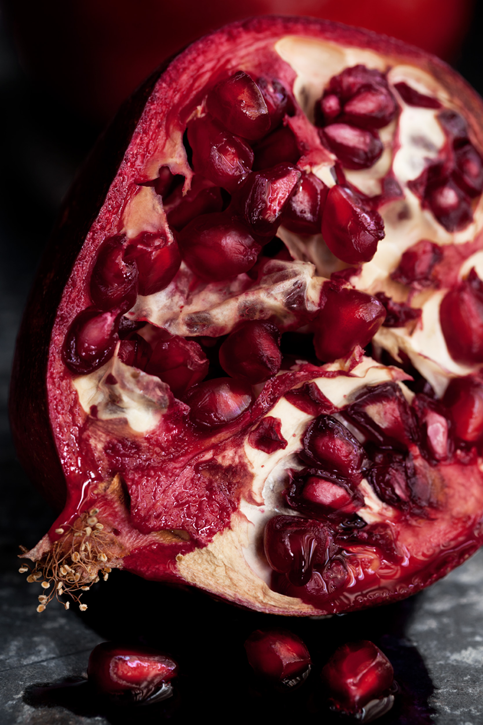 Katie Newburn | San Francisco Bay Area Food and Lifestyle Photographer | Pomegranate