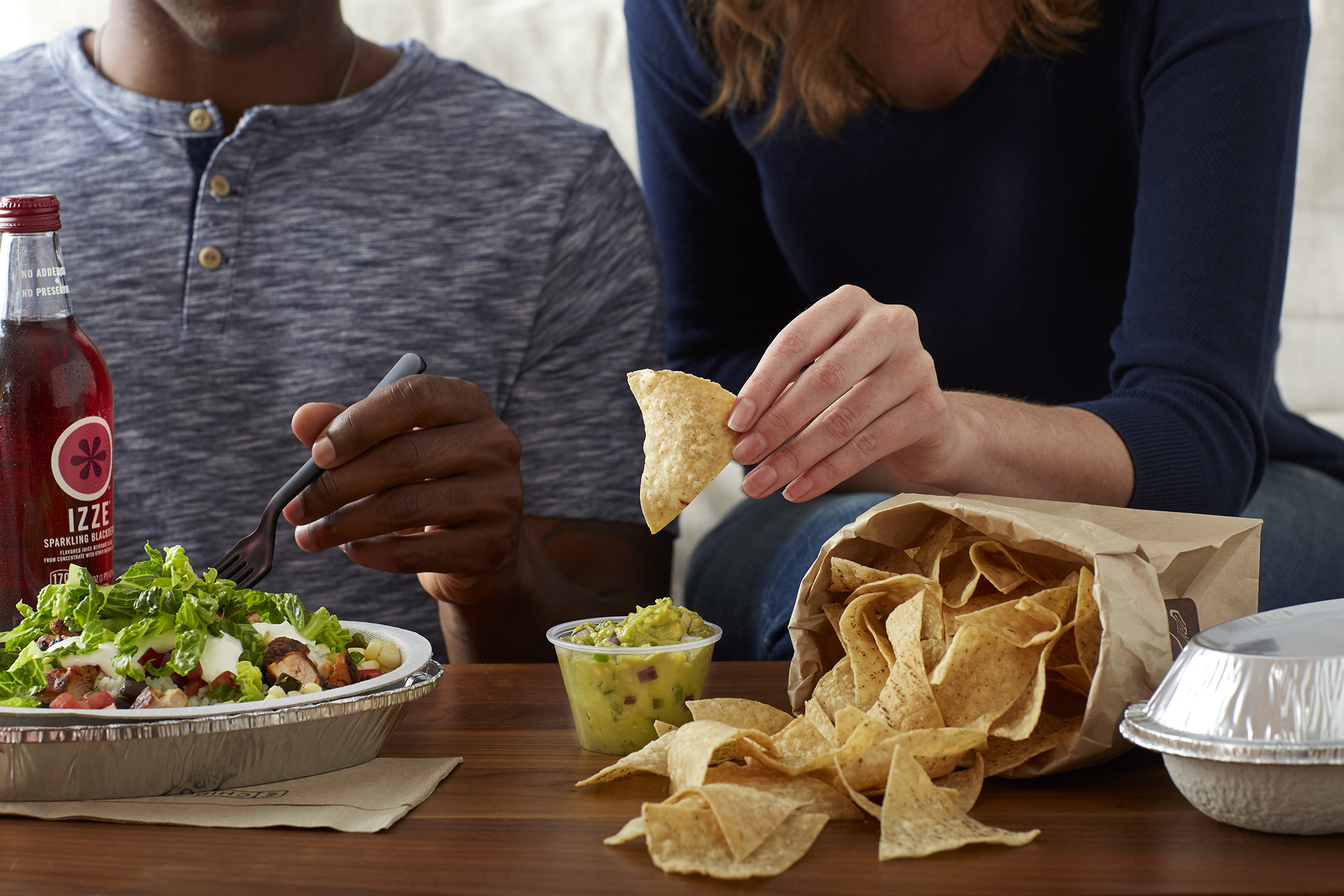 Katie Newburn | San Francisco Bay Area Food and Lifestyle Photographer | Chipotle Chips and Guac
