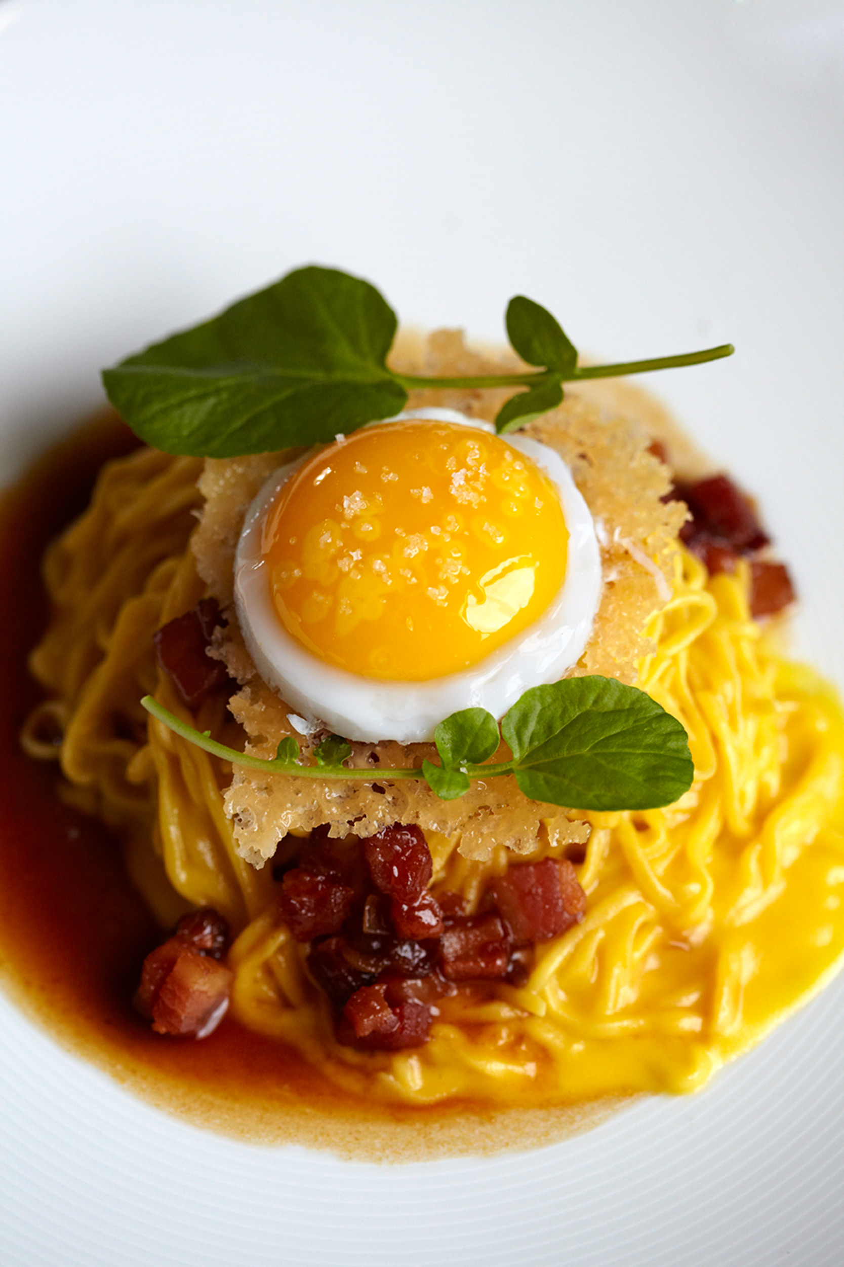 Katie Newburn | San Francisco Bay Area Food and Lifestyle Photographer | Linguine Pasta with Egg