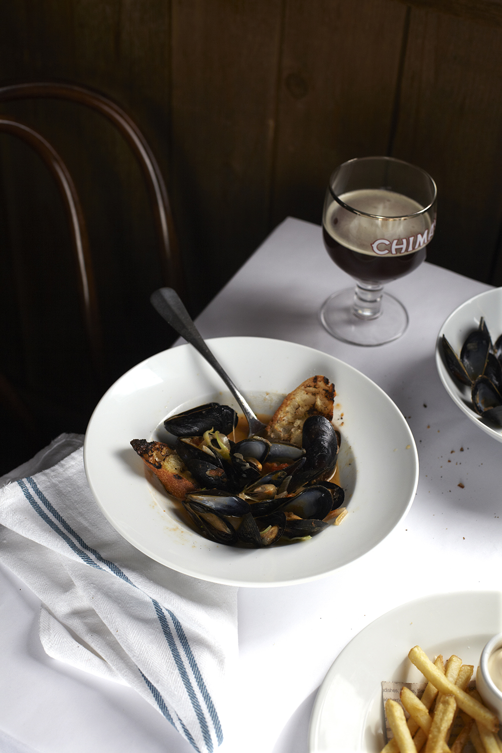 Katie Newburn | San Francisco Bay Area Food and Lifestyle Photographer | Mussels