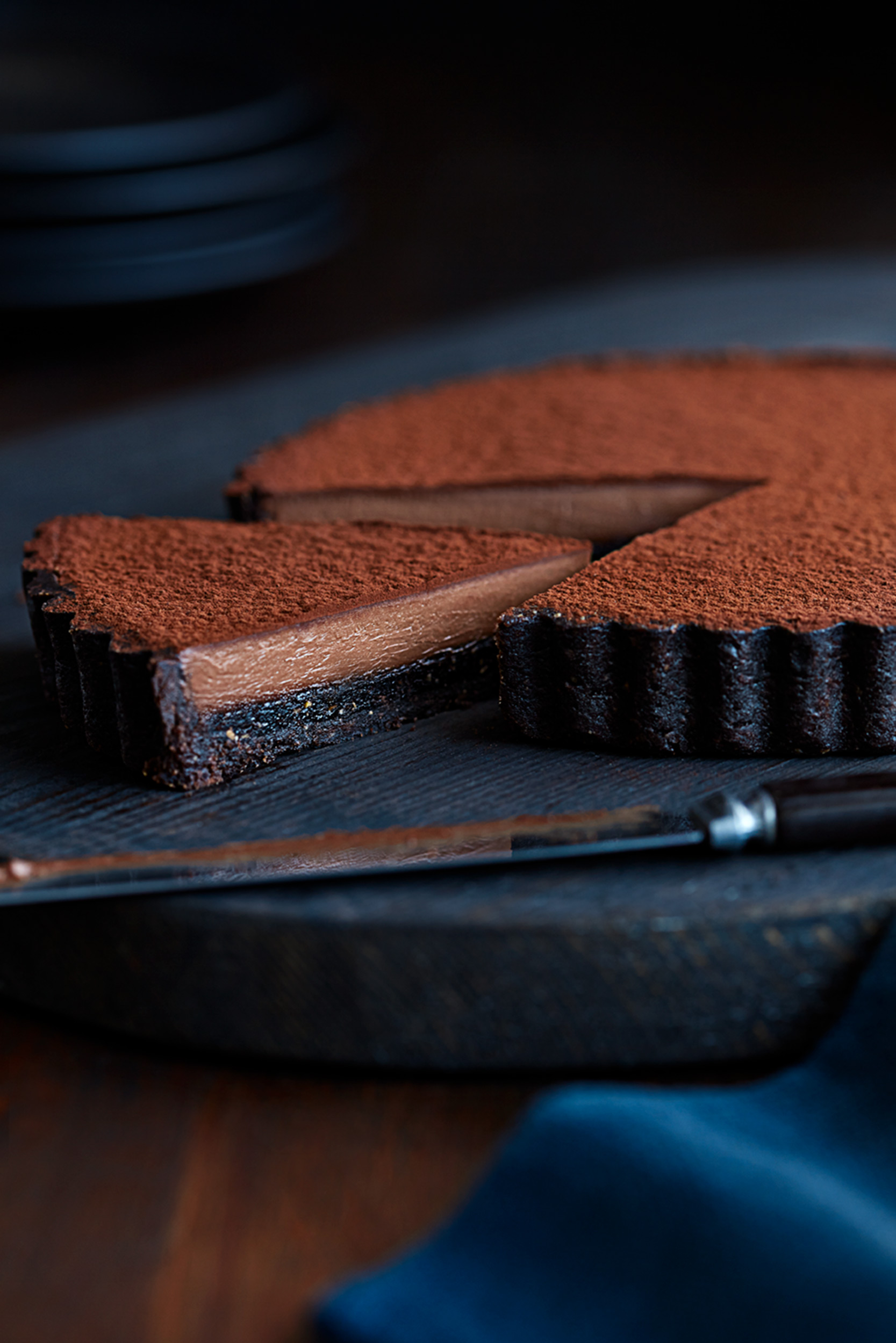 Katie Newburn | San Francisco Bay Area Food and Lifestyle Photographer | Chocolate Torte