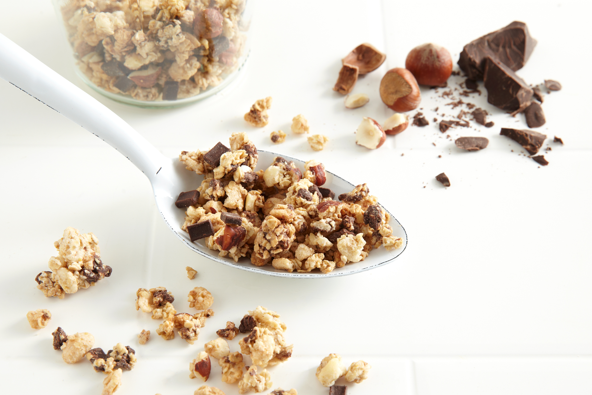 Katie Newburn | San Francisco Bay Area Food and Lifestyle Photographer | Nature Box Granola