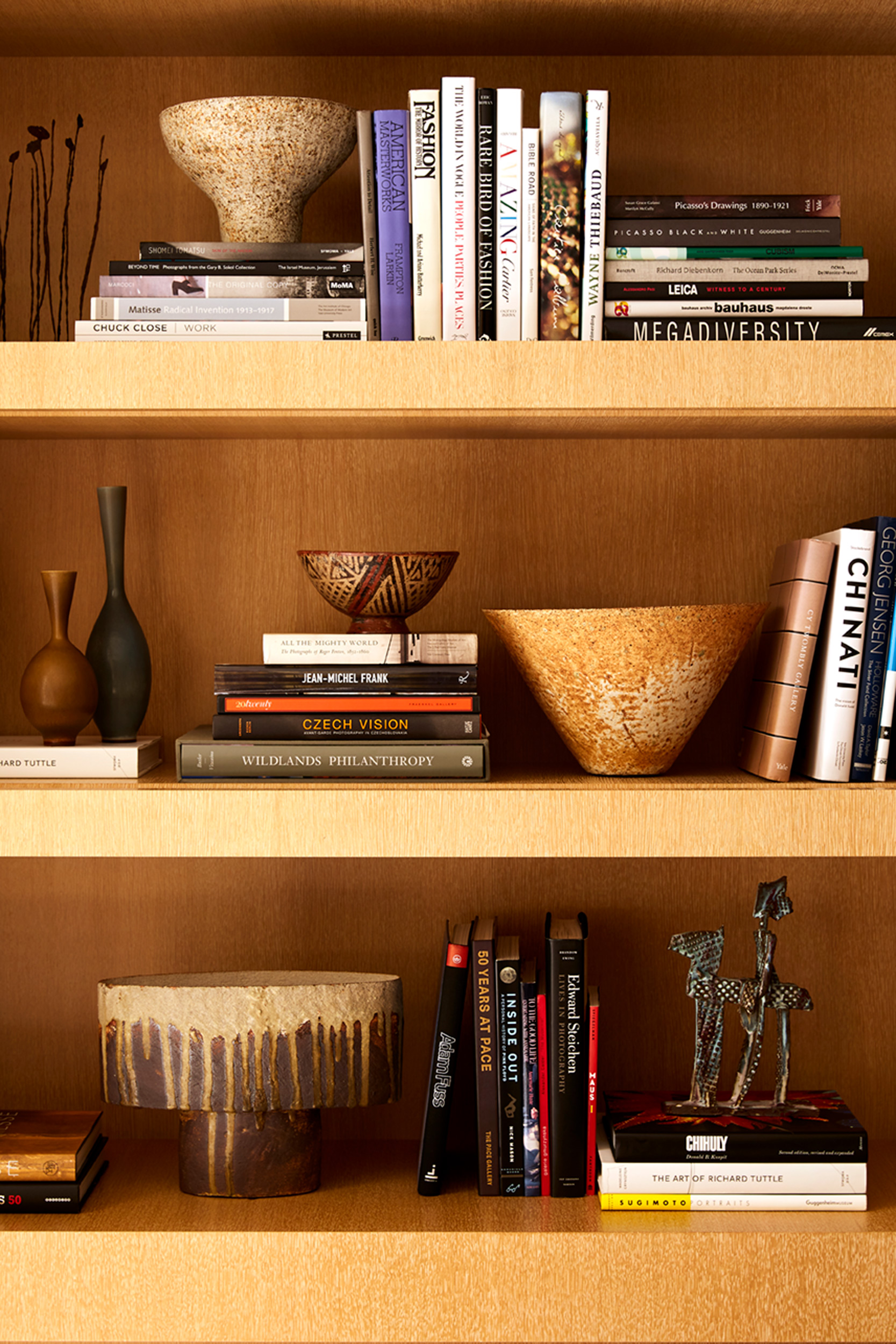 Katie Newburn | San Francisco Bay Area Food and Lifestyle Photographer | Douglas Durkin Design Interior Shelves