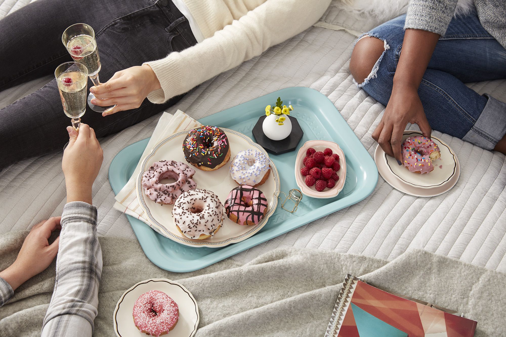 Katie Newburn | San Francisco Bay Area Food and Lifestyle Photographer | Postmates Donuts