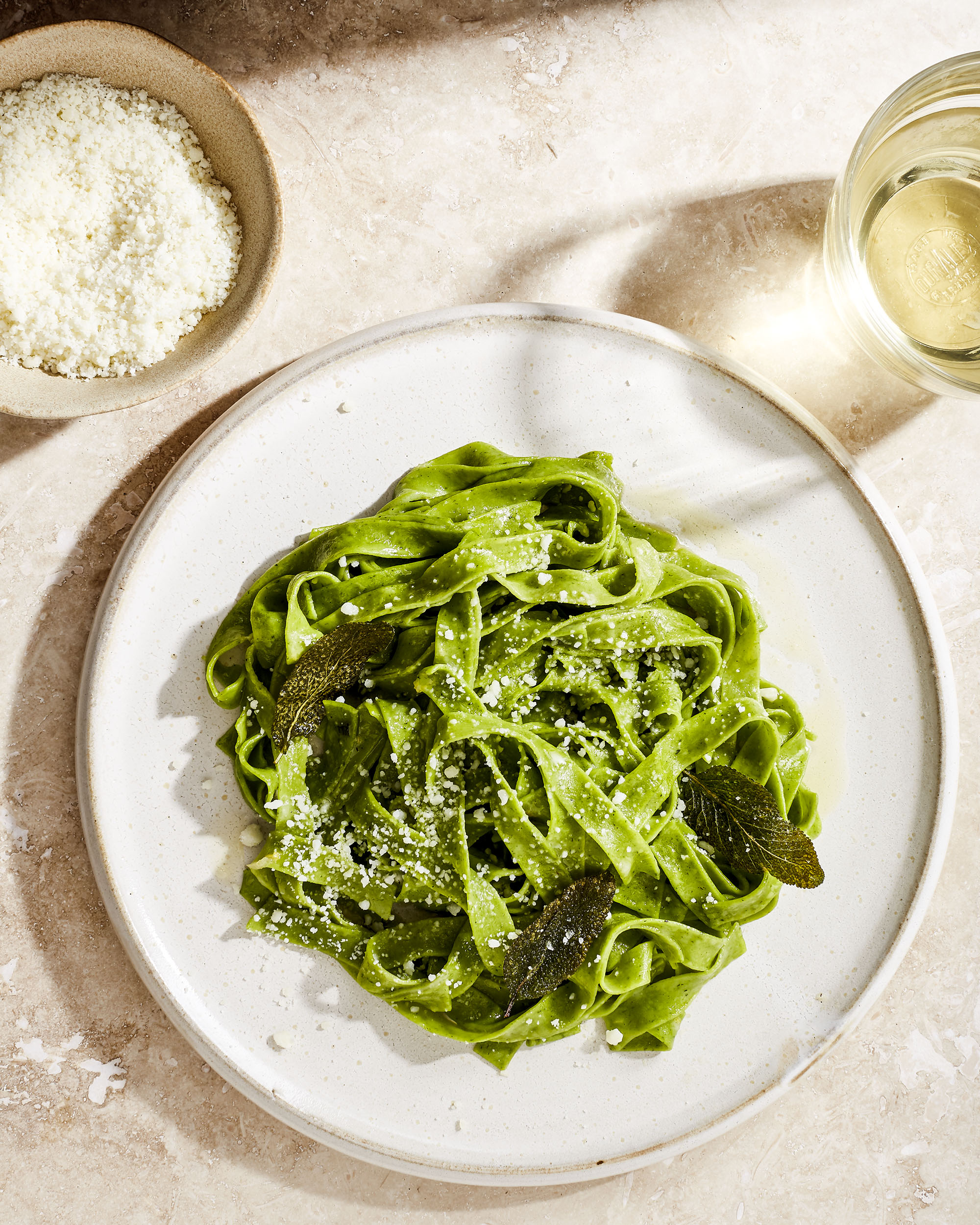 Katie Newburn | San Francisco Bay Area Food and Lifestyle Photographer | SloBurn nettle pasta