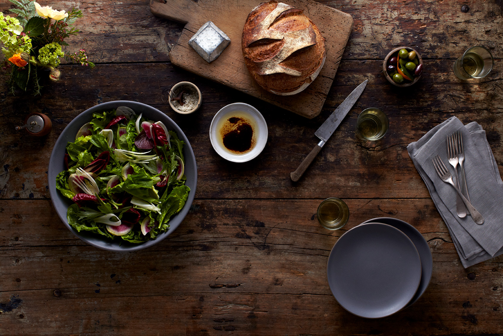 Katie Newburn | San Francisco Bay Area Food and Lifestyle Photographer | Sonoma Harvest Salad Dressing