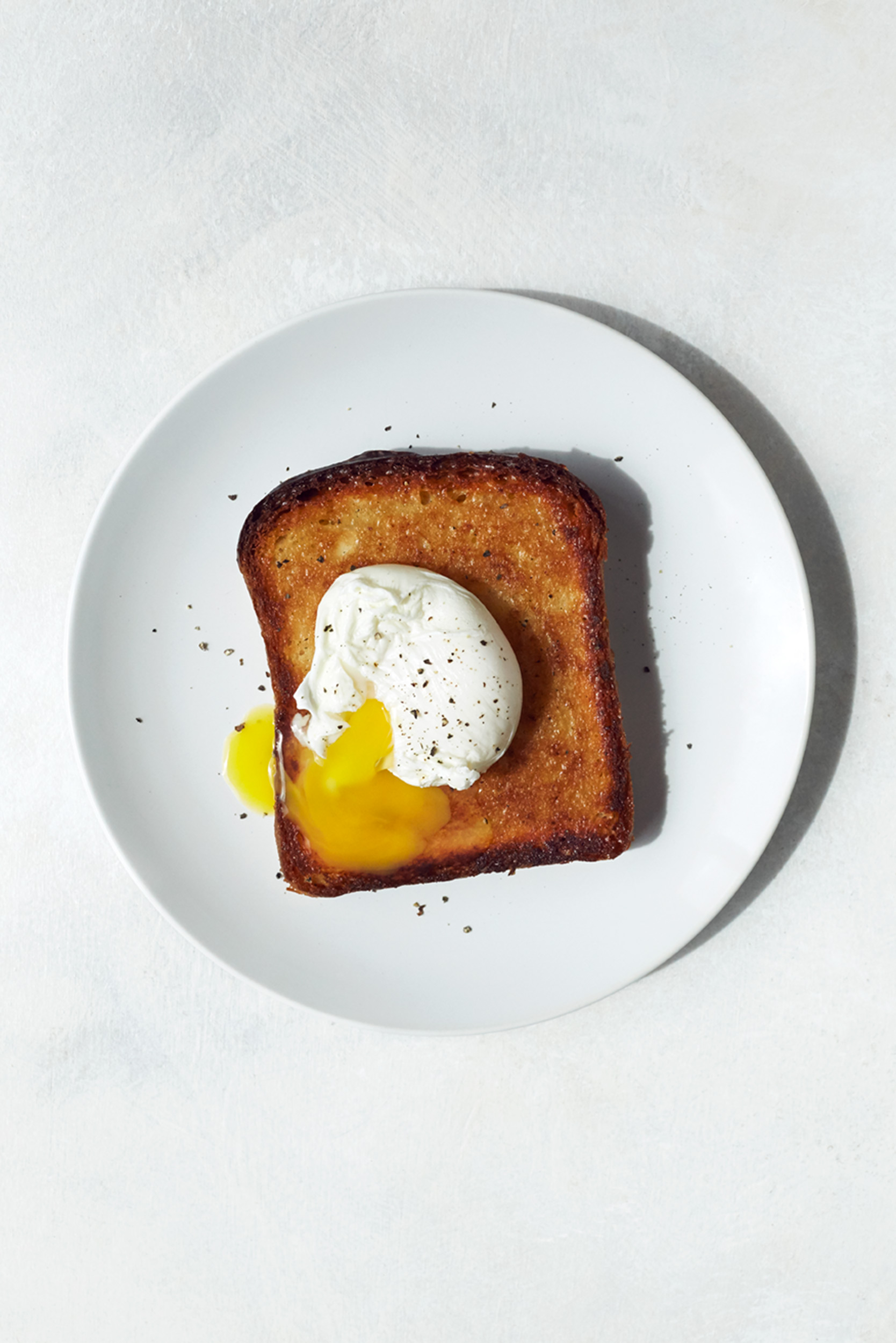 Katie Newburn | San Francisco Bay Area Food and Lifestyle Photographer | Toast with Egg