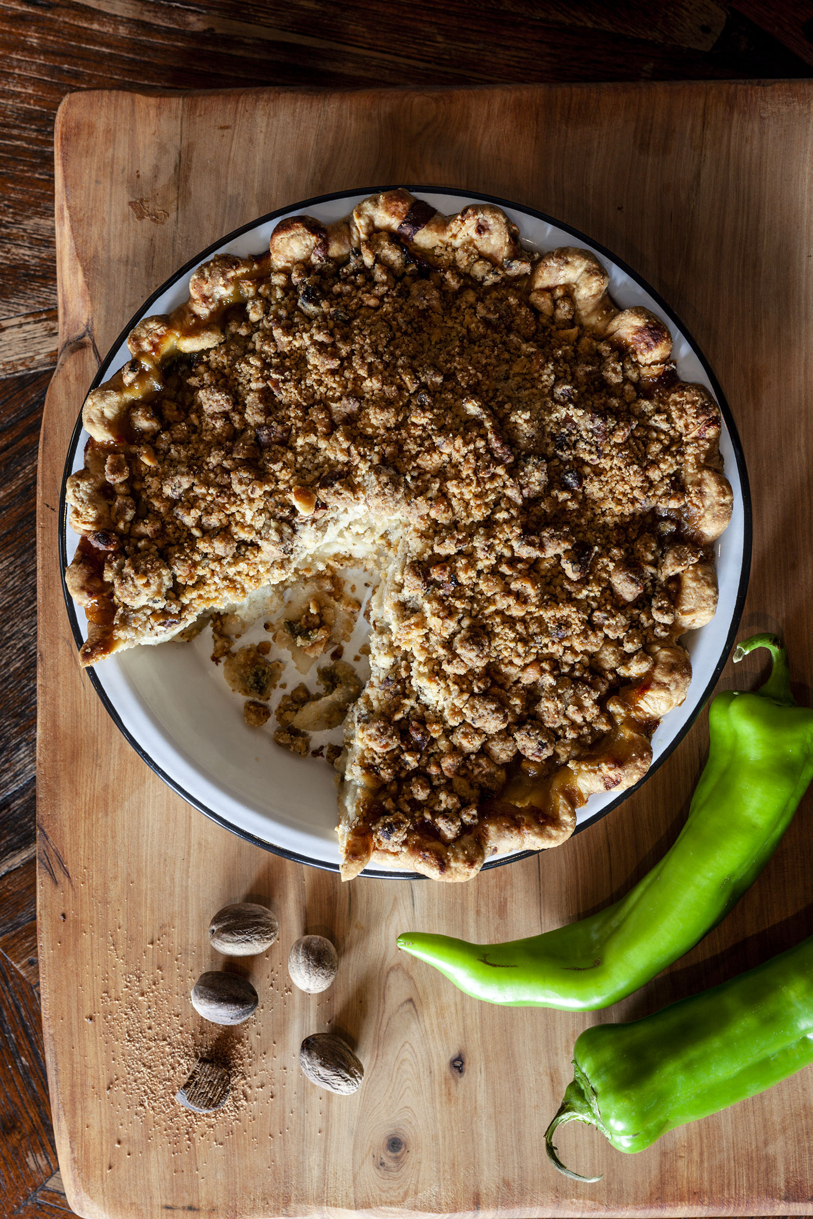 Katie Newburn | San Francisco Bay Area Food and Lifestyle Photographer | Chile Pie